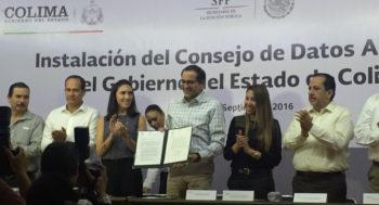 Colima adopta la Carta internacional de Datos Abiertos / Colima adopts the international Open Data Charter