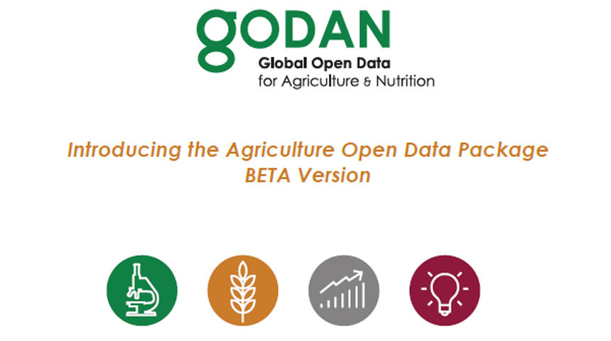 Introducing the Agricultural Open Data Package BETA Version